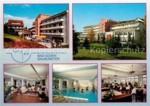 AK / Ansichtskarte Salmuenster Bad Soden Salztal Klinik Kat. Bad Soden am Taunus