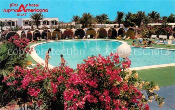 Eilat Hotel Americana Swimming Pool Kat. Eilat