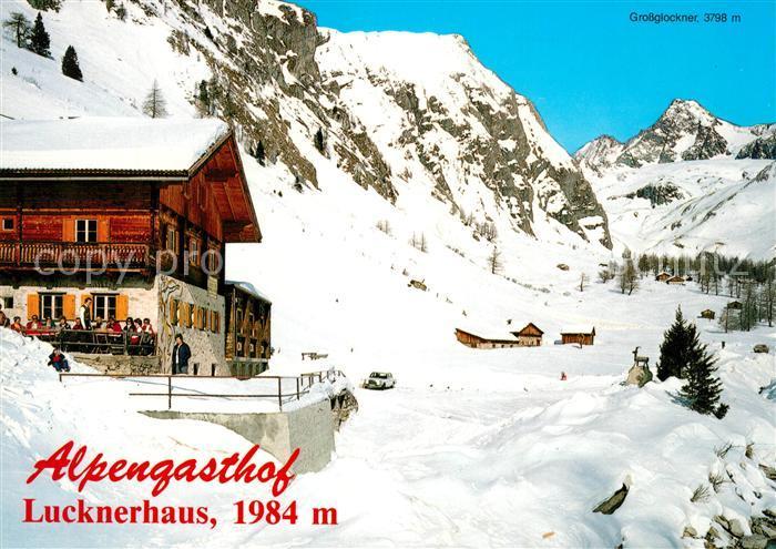 AK / Ansichtskarte Kals Grossglockner Alpengasthof Lucknerhaus  Kat. Kals am Grossglockner