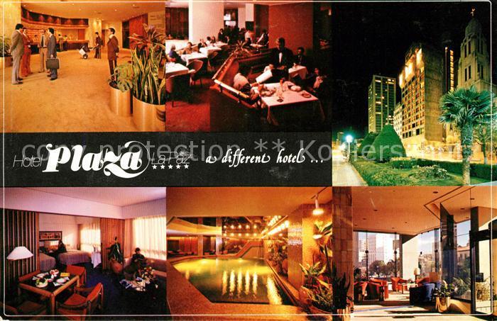 AK / Ansichtskarte La Paz Bolivia Hotel Plaza La Paz Foyer Bar Gastraum Hallenbad Kat. La Paz