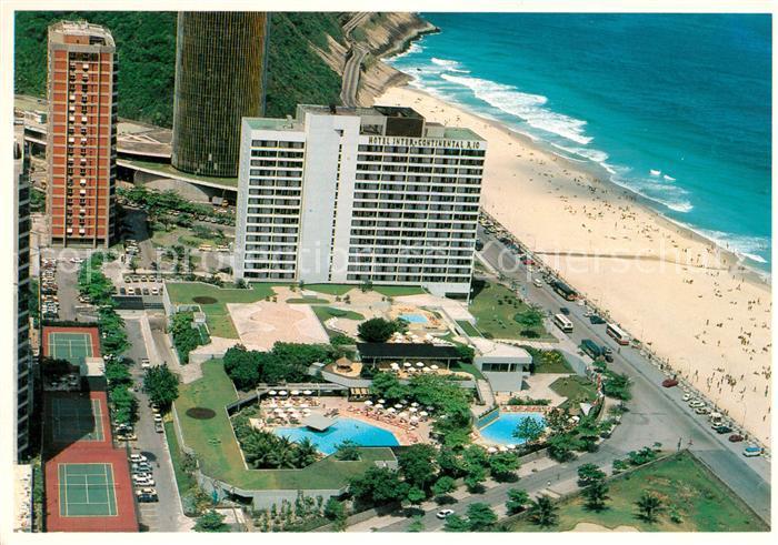 AK / Ansichtskarte Rio de Janeiro Hotel Inter Continental Rio Fliegeraufnahme Kat. Rio de Janeiro