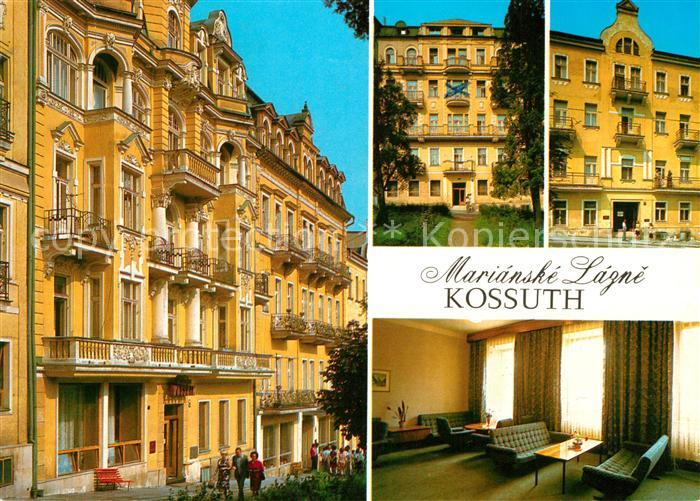 AK / Ansichtskarte Marianske Lazne Zotavovna ROH Kossuth Kat. Marienbad