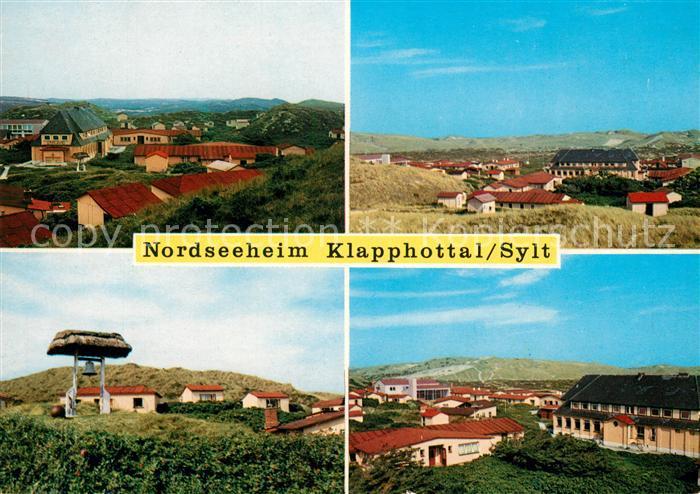 AK / Ansichtskarte List Sylt Nordseeheim Klappholttal Kat. List