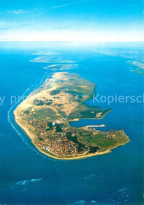AK / Ansichtskarte Norderney Nordseebad Nordseeinsel Fliegeraufnahme aus ca. 2500 m Hoehe Kat. Norderney