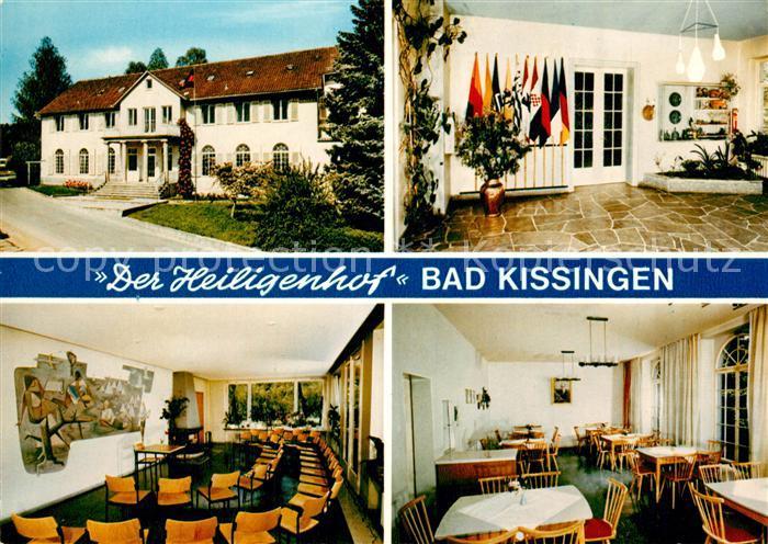 AK / Ansichtskarte Bad Kissingen Bildungsstaette Der Heiligenhof Kat. Bad Kissingen