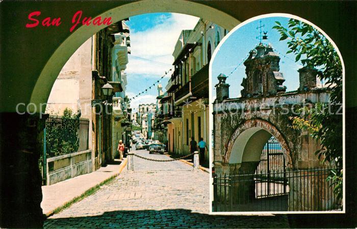 AK / Ansichtskarte San Juan Puerto Rico Cristo Street Kat. San Juan
