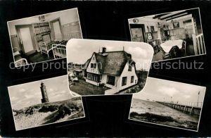 AK / Ansichtskarte St Peter Ording Kinderheim Islandhaus Leuchtturm Seebruecke Kat. Sankt Peter Ording