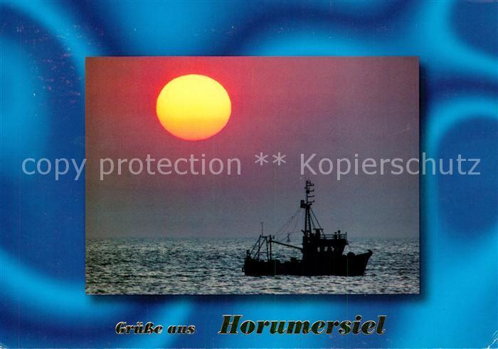 AK / Ansichtskarte Horumersiel Abendstimmung  Kat. Wangerland