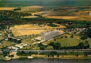 Porz Koeln Krankenhaus am Rhein Fliegeraufnahme Kat. Koeln