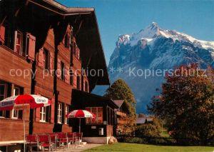 AK / Ansichtskarte Bern BE Naturfreundehaus Grindelwald Kat. Bern