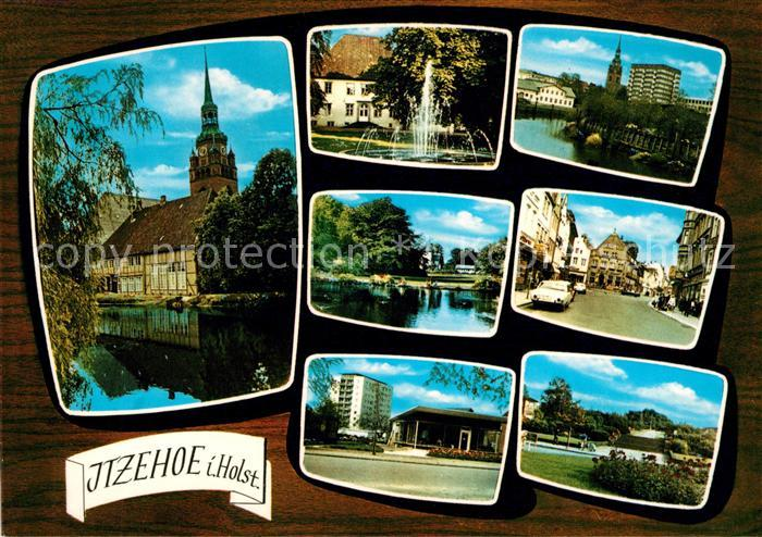AK / Ansichtskarte Itzehoe Orts und Teilansichten Kat. Itzehoe