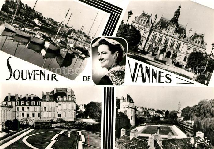 Vannes Port Mairie Jardins Chateau Coiffe de Vannes Kat. Vannes