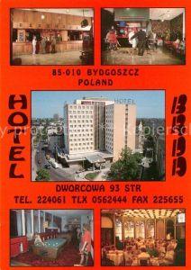 Bydgoszcz Pommern Hotel Restaurant Bar Billard Kat. Bromberg Bydgoszcz