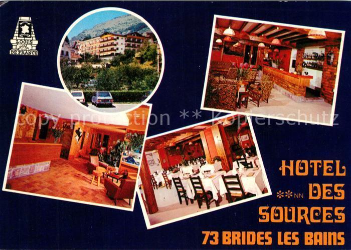 Brides les Bains Hotel des Sources Restaurant Kat. Brides les Bains
