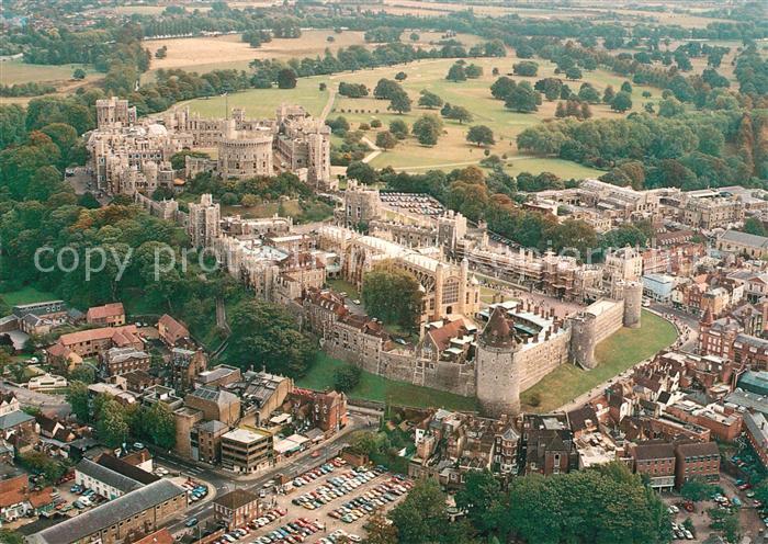 Windsor Castle Fliegeraufnahme Kat. City of London