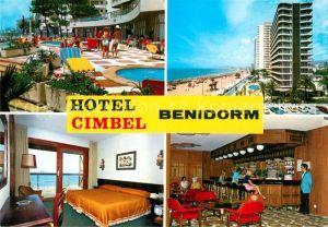 Benidorm Hotel Cimbel Kat. Costa Blanca Spanien