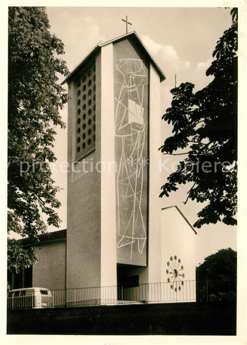 Bad Sooden Allendorf St Bonifatius Kirche Kat. Bad Sooden Allendorf