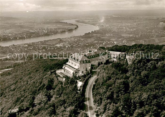 Siebengebirge Hotel Petersberg Fliegeraufnahme Kat. Koenigswinter