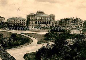 AK / Ansichtskarte Alt Weimar Ehemaliger Museumsplatz