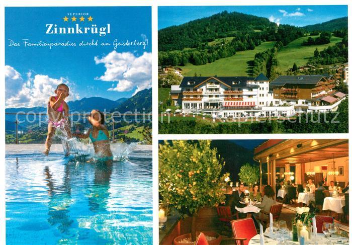 AK / Ansichtskarte St Johann Pongau Wellness Relax Hotel Zinnkruegl am Geisterberg Kat.