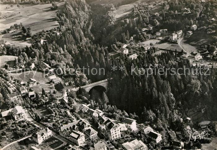 AK / Ansichtskarte Saint Gervais les Bains Vue aerienne Le Pont Kat. Saint Gervais les Bains