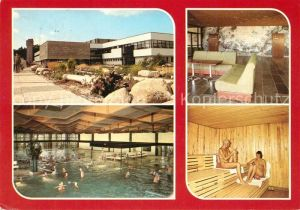 AK / Ansichtskarte Zinnowitz Ostseebad Feriendienst der IG Wismut Meerwasserhallenbad