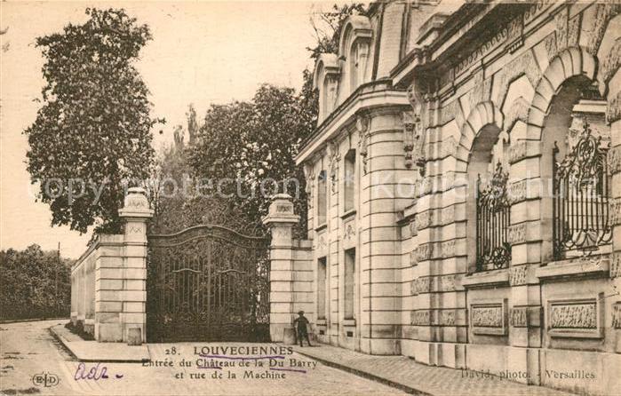 AK / Ansichtskarte Louveciennes Schloss Du Barry Kat. Louveciennes