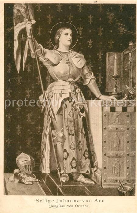AK / Ansichtskarte Orleans Loiret Selige Johanna von Arc Kat. Orleans