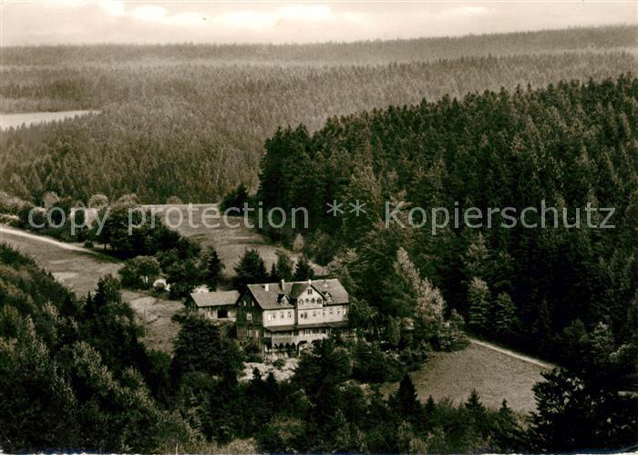 AK / Ansichtskarte Hohegeiss Harz Blick auf Waldhotel Dicke Tannen Kat. Braunlage