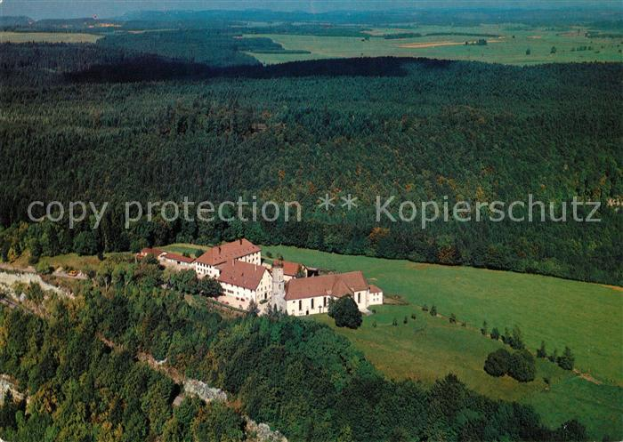 AK / Ansichtskarte Spaichingen Claretiner Missionshaus Dreifaltigkeitsberg Fliegeraufnahme Kat. Spaichingen