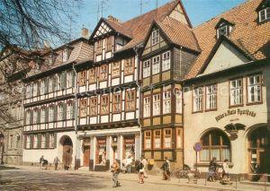 AK / Ansichtskarte Quedlinburg Kornmarkt Fachwerkhaeuser Kat. Quedlinburg