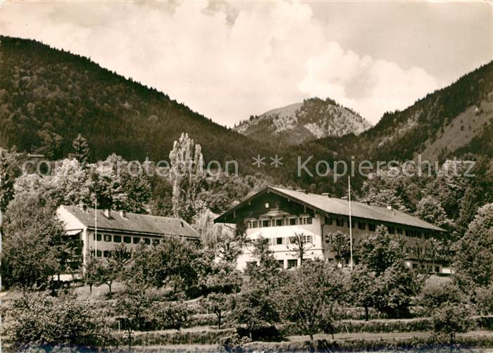 AK / Ansichtskarte Brannenburg Erholungsheim der DGP Brannenburg Kat. Brannenburg