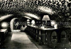 AK / Ansichtskarte Beaujeu Rhone Caveau de Degustation des Vins Interieur du Temple de Bacchus Kat. Beaujeu