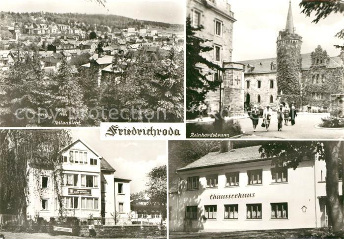 AK / Ansichtskarte Friedrichroda Panorama Reinhardsbrunn Chausseehaus Kat. Friedrichroda
