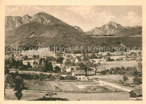 AK / Ansichtskarte Bergen Chiemgau mit Hochfelln und Hochgern Kat. Bergen