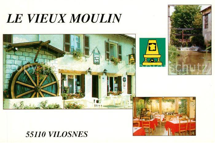 AK / Ansichtskarte Vilosnes Haraumont Hotel Le Vieux Moulin Kat. Vilosnes Haraumont