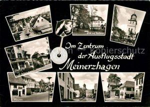 AK / Ansichtskarte Meinerzhagen Bahnhofstrasse Hauptstrasse Kirchstrasse Kat. Meinerzhagen