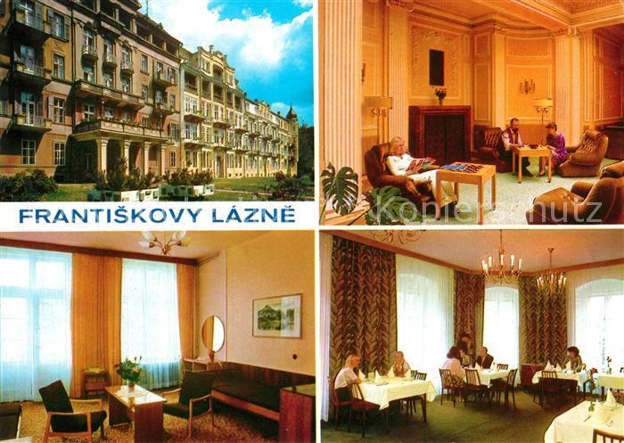Frantiskovy Lazne Lazensky dum Pawlik Kurhotel Kat. Franzensbad