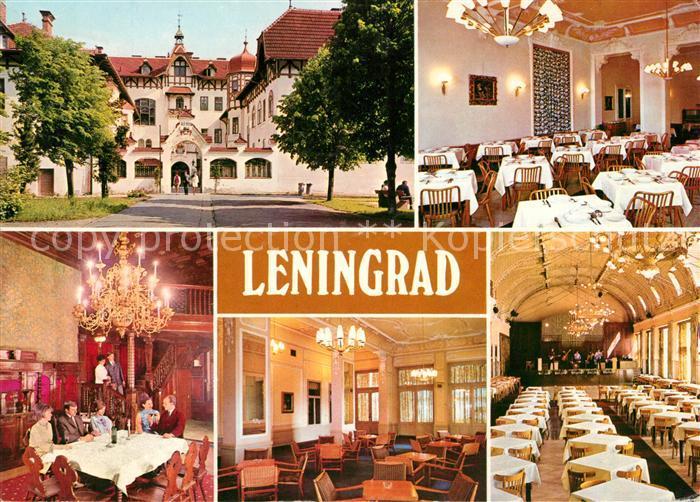 Marianske Lazne Zotavovna ROH Leningrad Kurhotel Restaurant Kat. Marienbad