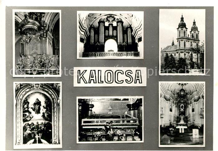 Kalocsa Kirche Altar Kanzel