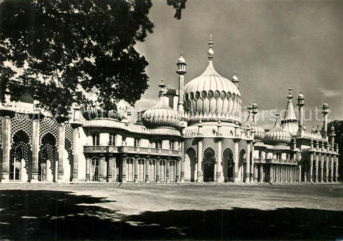 AK / Ansichtskarte Brighton East Sussex The Royal Pavilion East Front Kat.