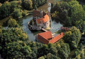 AK / Ansichtskarte Luedinghausen Burg Vischering Fliegeraufnahme Kat. Luedinghausen