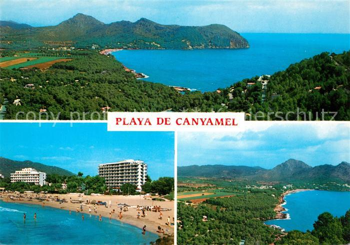 AK / Ansichtskarte Playa de Canyamel Hotelanlagen Strand Panoramen Kat. Mallorca