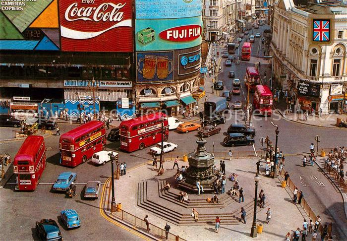 AK / Ansichtskarte London Piccadilly Circus Kat. City of London