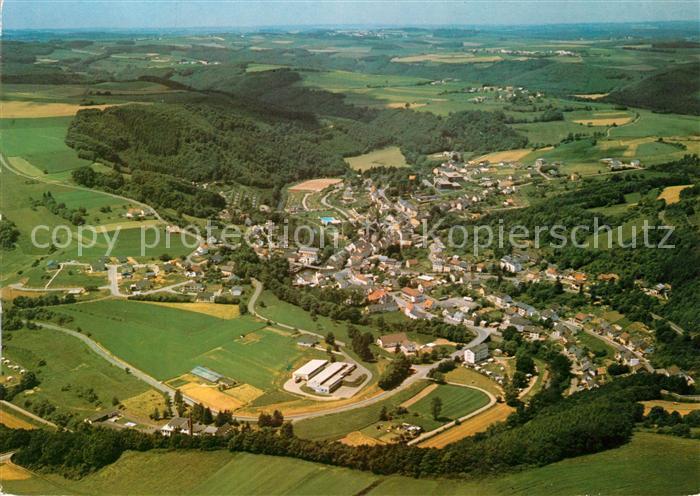 AK / Ansichtskarte Waxweiler Fliegeraufnahme Panorama Kat. Waxweiler