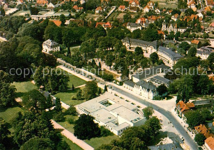 AK / Ansichtskarte Nenndorf Bad Fliegeraufnahme Kurviertel Kat. Bad Nenndorf