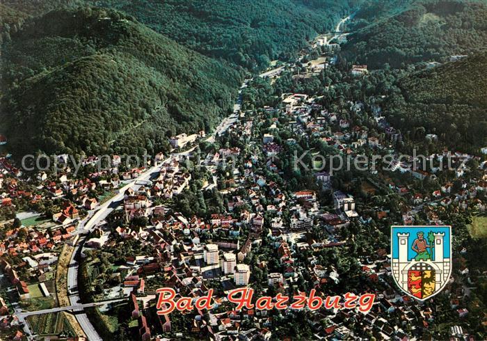 AK / Ansichtskarte Harzburg Bad Fliegeraufnahme Kat. Bad Harzburg