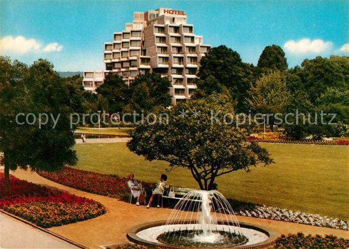 AK / Ansichtskarte Hameln Weser Hotel Dorint Park Fontaine