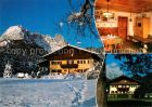 AK / Ansichtskarte Kirchdorf Tirol Pension Wurzenrainer Winterlandschaft Kat. Kirchdorf in Tirol Wilder Kaiser