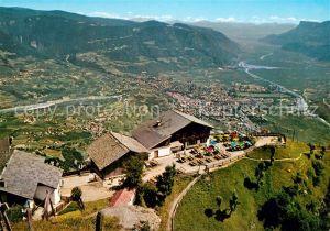 AK / Ansichtskarte Dorf Tirol Fliegeraufnahme mit Vellau Leiteralm und Vellau Felsenweg Kat. Tirolo